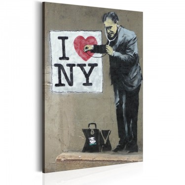 Obraz  I Love New York by Banksy