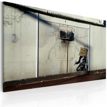 Obraz  Roboty (Banksy)