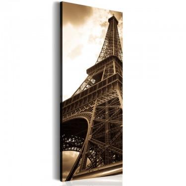 Obraz  Oniryczy Paryż  sepia
