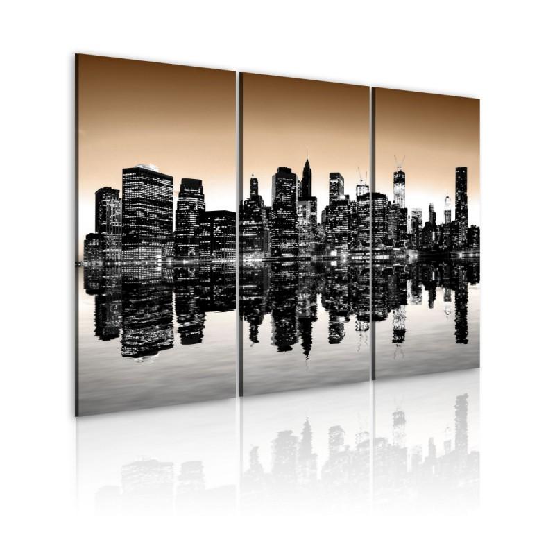 Obraz  Tonący Nowy Jork