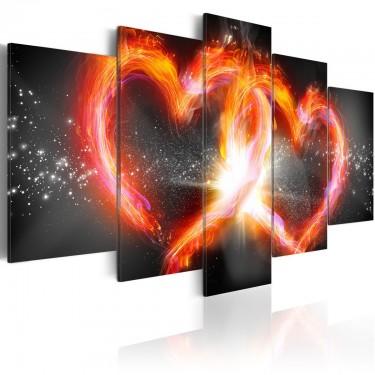 Obraz  Płomień miłości