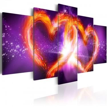 Obraz  Płomienie miłości