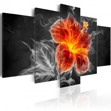 Obraz  Smoky flower