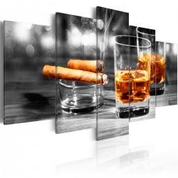 Obraz - Cygara i whisky