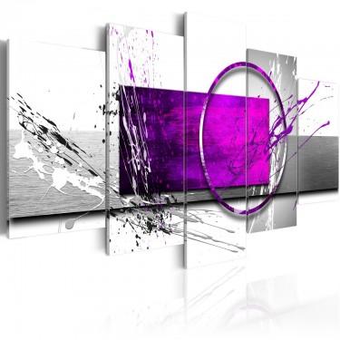 Obraz  Purpurowa ekspresja