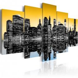 Obraz - NYC lustrzane odbicie - 5 części