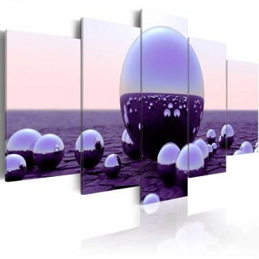 Obraz  Fioletowe kule
