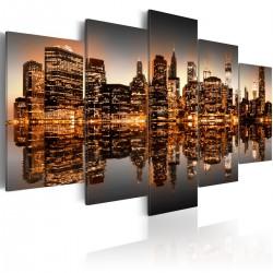 Obraz  Natchniony Nowy Jork  5 części