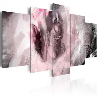 Obraz  Różowa głębia