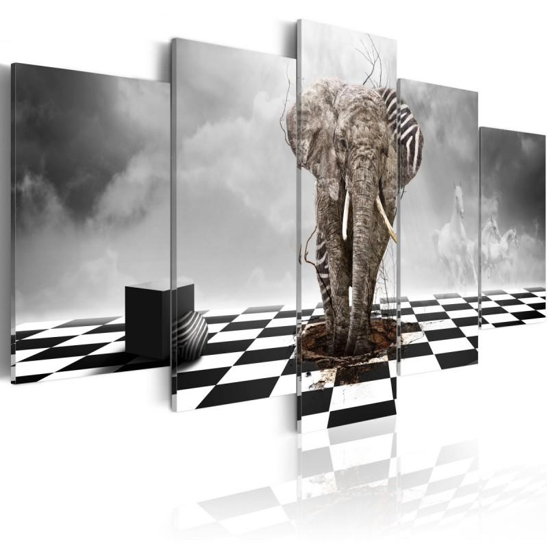 Obraz  Ucieczka z Afryki