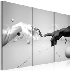 Obraz - Dotyk w czerni i bieli