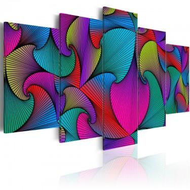 Obraz  Karuzela kolorów