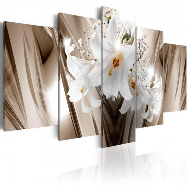 Obraz  Uwięziona lilia