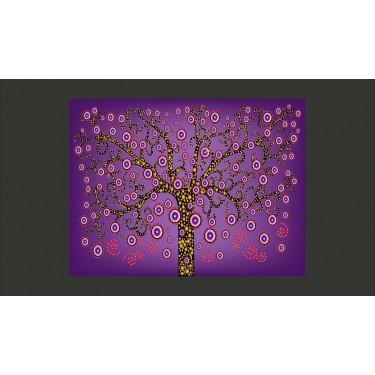 Fototapeta  abstrakcja drzewo (fioletowy)