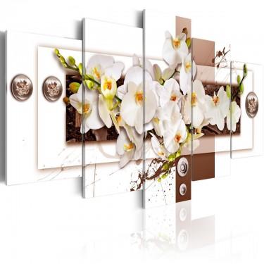 Obraz  Kwiatowa instalacja