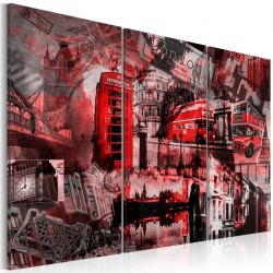Obraz  Czerwony Londyn