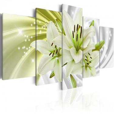 Obraz  Zielony blask
