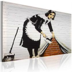 Obraz - Sprzątaczka (Banksy)