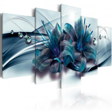 Obraz  Niebieska lilia