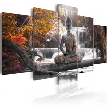 Obraz  Jesienny Budda