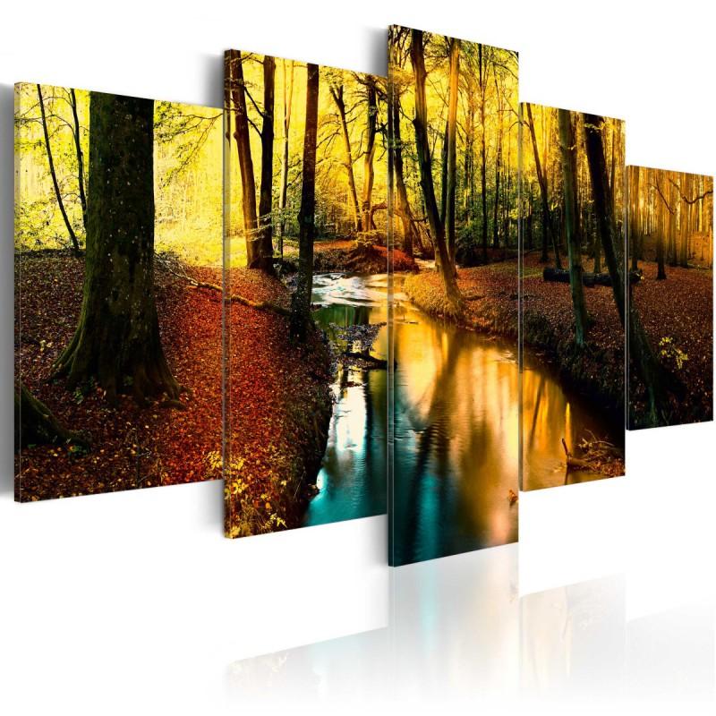 Obraz  Jesienna cisza las
