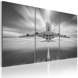 Obraz - W stronę chmur - tryptyk