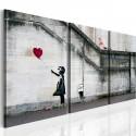 Obraz Zawsze jest nadzieja (Banksy) tryptyk