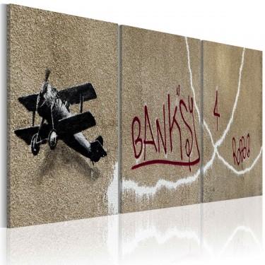 Obraz  Samolot (Banksy)