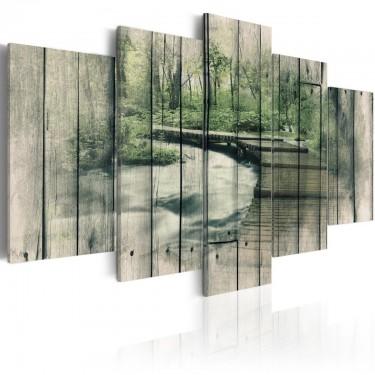 Obraz  Rzeka tajemnic