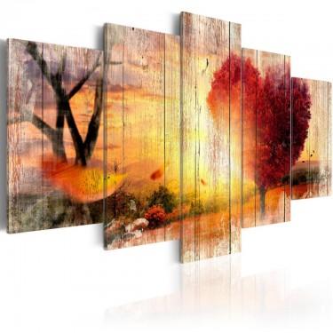 Obraz  Jesienna miłość