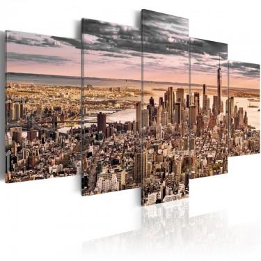 Obraz  Nowy Jork Poranne niebo