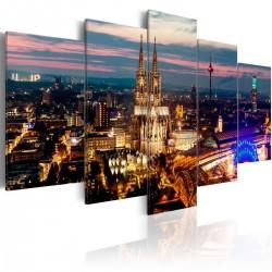 Obraz - Kolonia: Nocna panorama