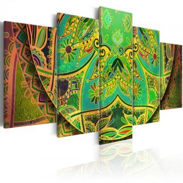 Obraz  Mandala Zielona energia