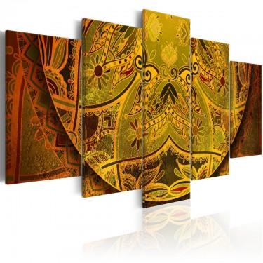 Obraz  Mandala Złota siła