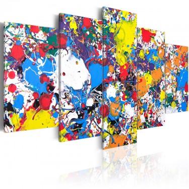 Obraz  Kolorowa wyobraźnia