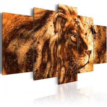 Obraz  Piękny lew
