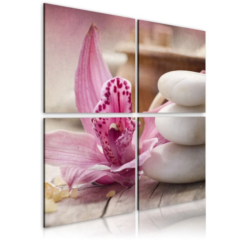 Obraz  Orchidea i zen