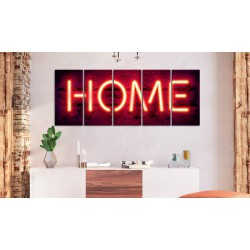 Obraz  Neonowe home