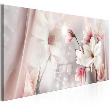 Obraz  Odbicie magnolii (1częsciowy) wąski