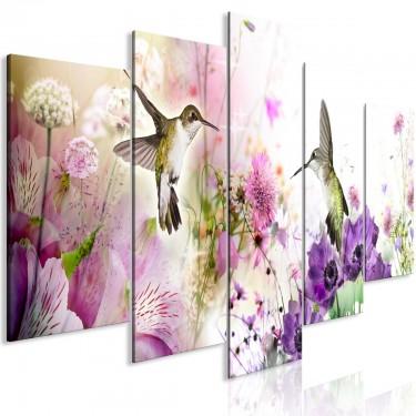 Obraz  Kolorowa natura (5częściowy) szeroki