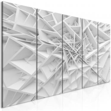 Obraz  Skomplikowana geometria (5częściowy) wąski