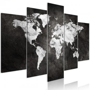 Obraz  Mroczny świat (5częściowy) szeroki