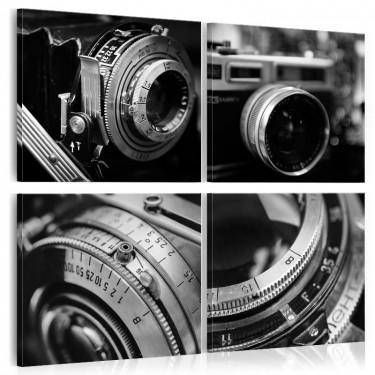 Obraz  Zabytkowe aparaty