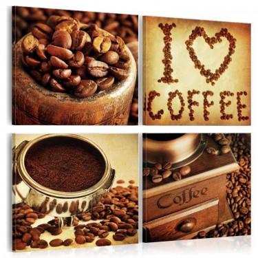 Obraz  Kawa  Przyjemne chwile