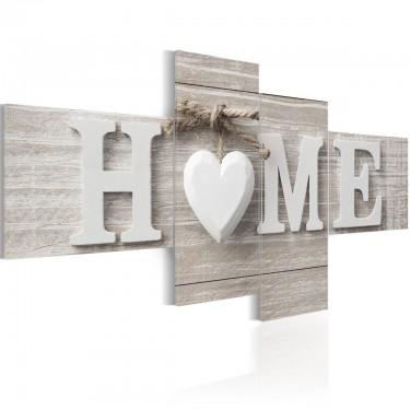 Obraz  Retro styl HOME