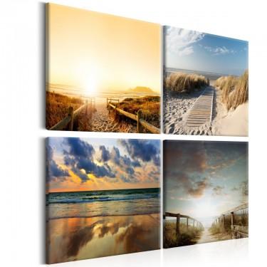 Obraz  Na plaży ze snów