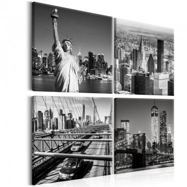 Obraz  Oblicza Nowego Jorku