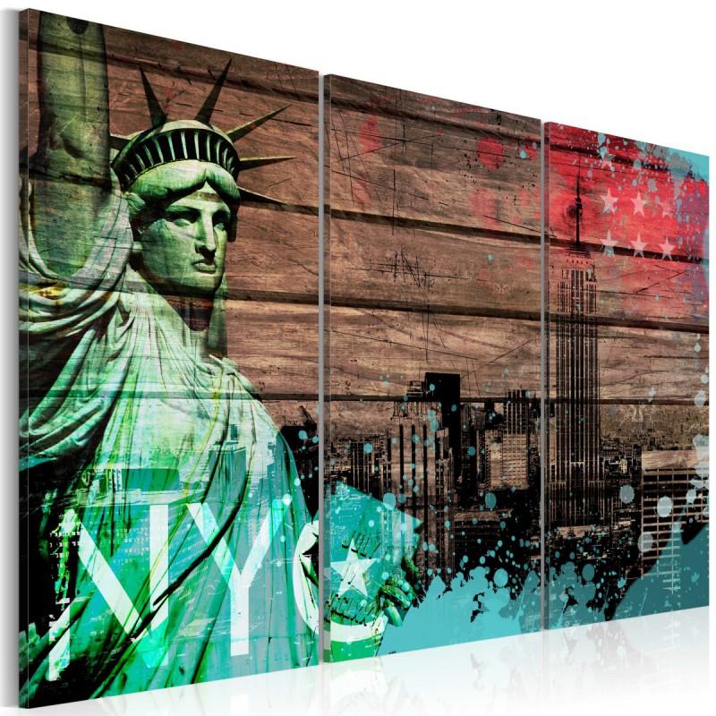 Obraz  NYC collage II