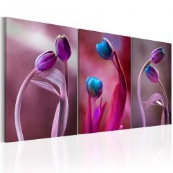 Obraz - Zakochane tulipany