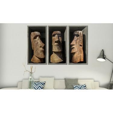 Obraz  Moai (Wyspa Wielkanocna)